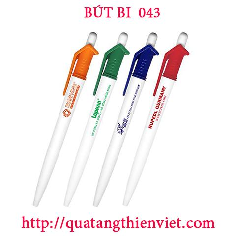 Bút Bi In Logo MS07